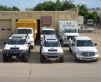 Fleet of Service Vehicles